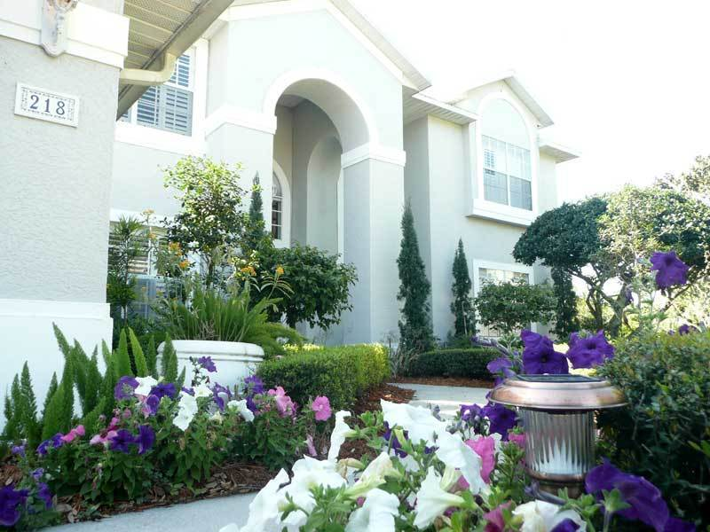 Classy and Colorful | Tropic Greenery Landscaping
