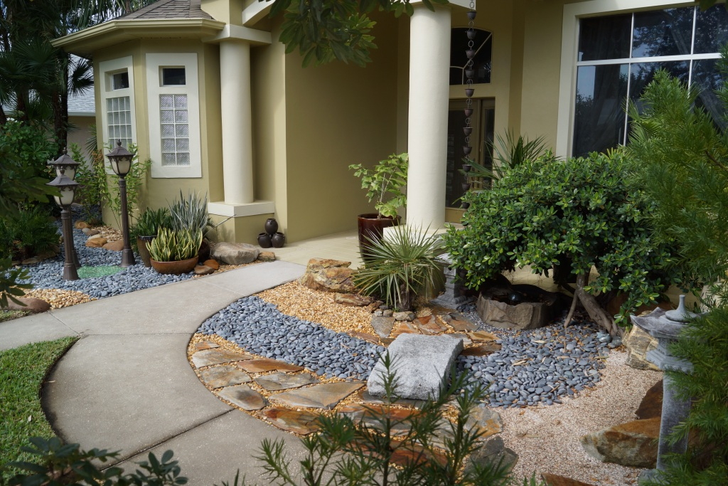 Central florida landscaping photos brevard county Florida landscape design ideas